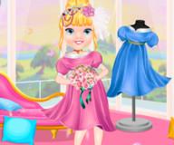 Одевалка маленькой прекрасной принцессы