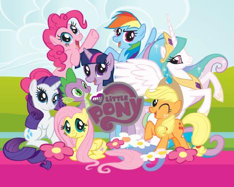 картинки с пони с днём рождения