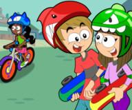 Финис да Ферб:Дисней гонки бери велосипеде