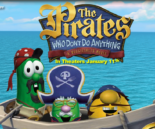 Игра VeggieTales: The Pirates Who Don't Do Anything