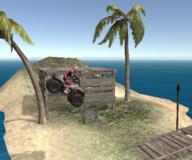 Игры гонки:Квадроцикл на пляже