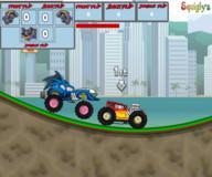 Игры гонки:Сумасшедшие машинки