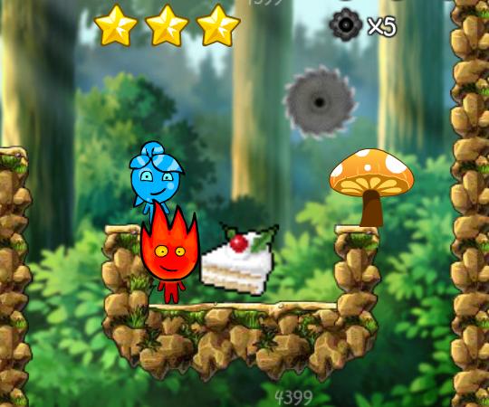 Игры огонь и вода играть онлайн бесплатно!