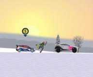 Игры гонки:Зимние гонки