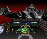 Battletoads:Battletoads in Battlemaniacs SNES