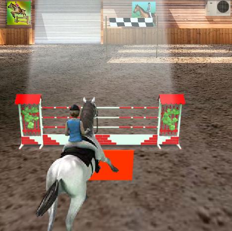 Игра на скачки лошадях