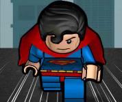 Плащ для майнкрафт супермен
