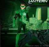 Зеленый фонарь:Бой с пришельцем