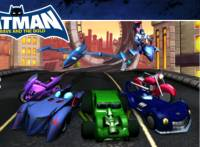 Бэтмен игры:Гонки по улицам Готэма
