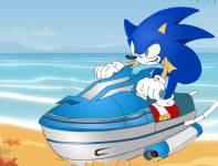 Соник:Соник на водном мотоцикле 2