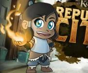 Аватар игры:Аватар Корра - бег по городу