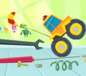 Фиксики игры:Гонки с Фиксиками