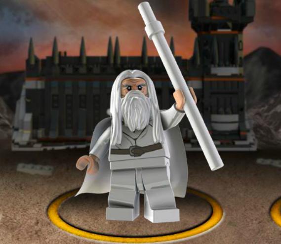 Лего властелин колец черные врата