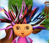 Игры Даша путешественница:Прическа для Даши