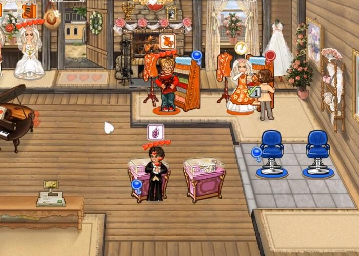 Свадебный магазин игра для девочек