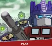 Трансформеры:Лего Прайм против зомби