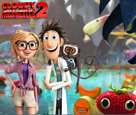Cloudy with a chance of meatballs 2 wildebeest