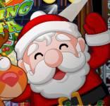Игры на Новый год:Дед Мороз танцует