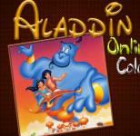 Алладин:Раскраска Алладин и Жасмин