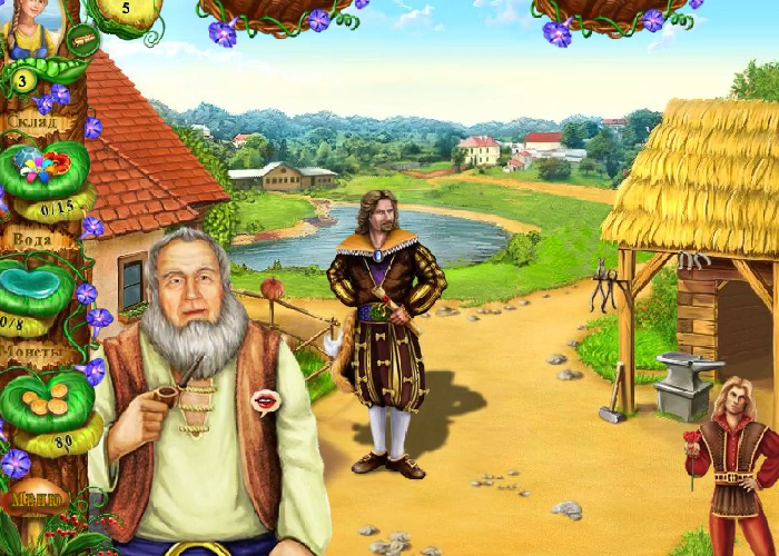 Играть в игру Ферма Айрис Цветок Стихий. 5. 4. 3. 2. 1. Игра начинается с