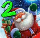 Игры на Новый год:Санта на дороге 2