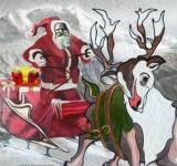 Игры на Новый год:Доставка подарков Санты