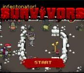 Игры про зомби:Инфектонатор 3 выживание в Новый год