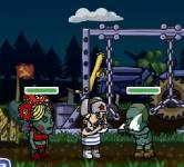 Игры про зомби:Защити родину от зомби
