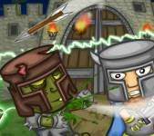 Игры про зомби:Рыцари против зомби