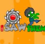 Игры про зомби:Я распилил зомби
