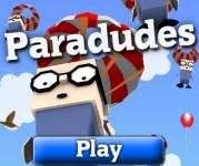 Игры для мальчиков:Чуваки парашютисты
