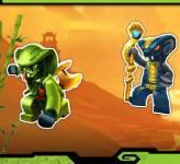 Игры лего:Ниндзя Го Племя Змеи