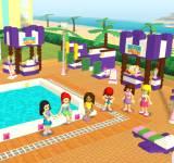 Игры лего:Лего Френдс вечеринка в городском бассейне