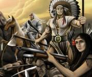 Военные:Индейцы против колонистов