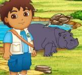 Диего:Диего и бегемот