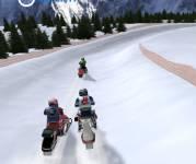 Игры гонки:3D гонки на снегоходах
