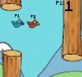 На двоих:Flappy bird