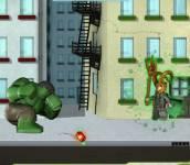 Халк:Халк разрушает город