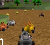 Игры гонки:Картинг на ферме