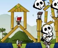 Игры для мальчиков:Осада города: Пиратский грабеж