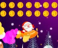 Игры на Новый год:Санта на самолете