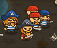 Игры про зомби:Пираты против  зомби