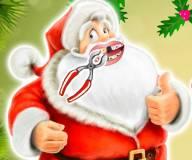 Игры на Новый год:Санта Клаус лечит зубы