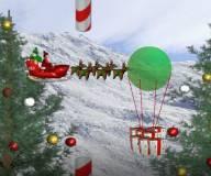 Игры на Новый год:Санта Flappy Bird