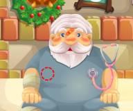Игры на Новый год:Санта у доктора