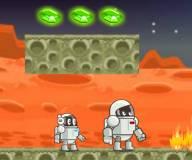 Огонь и вода:2 космонавта