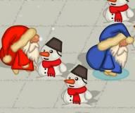 Игры на Новый год:Прыжок Санты