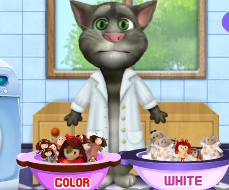 играть игру кот том: