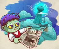 Игры про зомби:Безголовый зомби 2