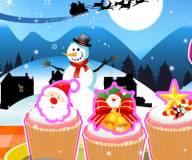 Игры на Новый год:Новогодние кексики